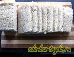 Шарлотка из белого хлеба 6 шаг