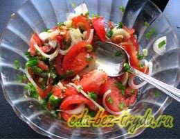 Салат к шашлыку 4 шаг