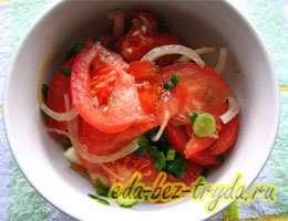 Салат к шашлыку 5 шаг