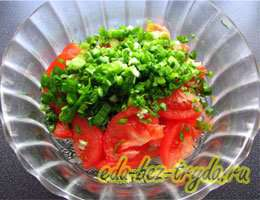 Салат к шашлыку 3 шаг