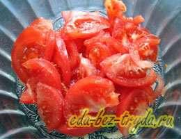 Салат к шашлыку 2 шаг