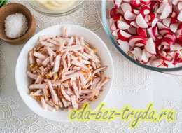 Салат весна рецепт 4 шаг