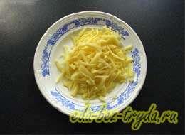 Фаршированные яйца с сыром 4 шаг