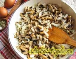 Киш с грибами и помидорами 6 шаг