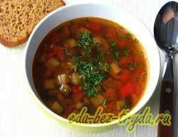 Суп из чечевицы 11 шаг