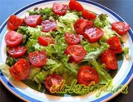 Салат с куриными сердечками 9 шаг