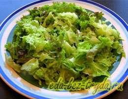 Салат с куриными сердечками 8 шаг