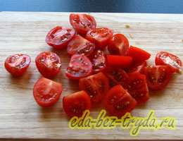 Салат с куриными сердечками 2 шаг
