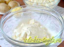 Сырник из домашнего творога 5 шаг