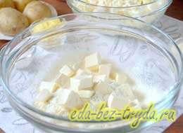 Сырник из домашнего творога 3 шаг