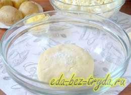 Сырник из домашнего творога 6 шаг