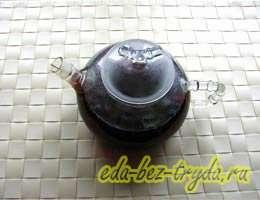 Смородиновый чай с базиликом 4 шаг
