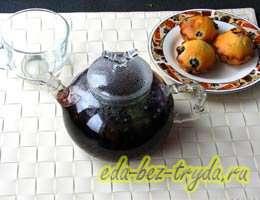 Смородиновый чай с базиликом 5 шаг
