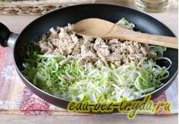 Куриный суп с плавленным сыром 3 шаг