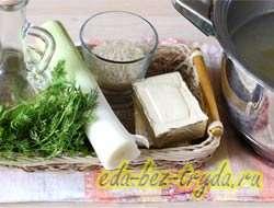 как приготовить Куриный суп с плавленным сыром