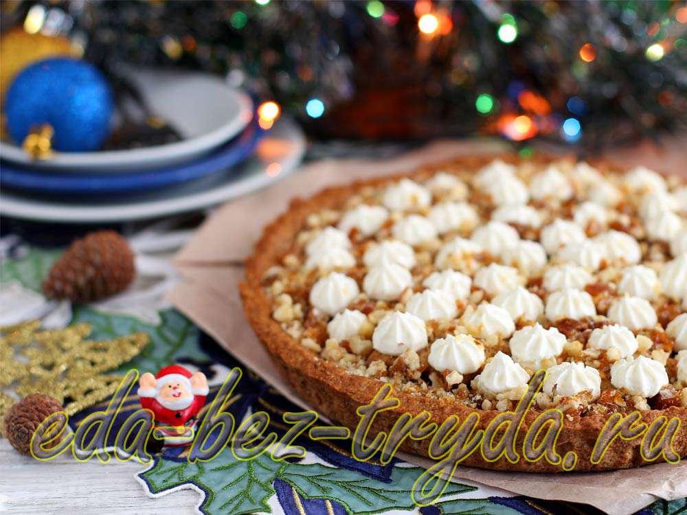 Медовый пирог рецепт с фото