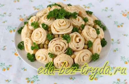 Салат Букет роз 12 шаг