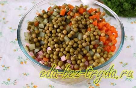 Салат Букет роз 3 шаг