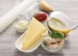как приготовить Закуска в сырных корзиночках