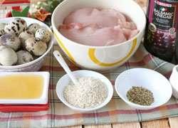 как приготовить Закуска из курицы и перепелиных яиц Сказка