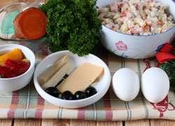 как приготовить Как украсить салат оливье