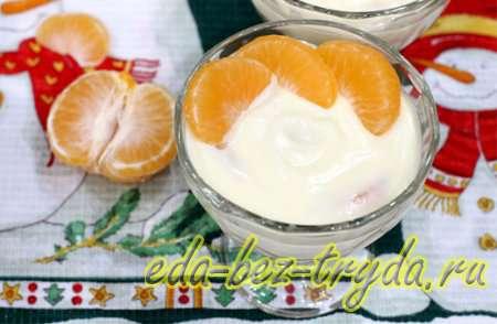 Десерт из мандаринов в шоколаде 8 шаг