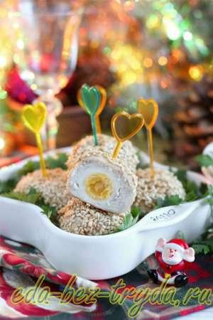 Закуска из перепелиных яиц рецепт с фото 9 шаг