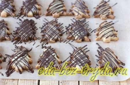 Печенье елочка 7 шаг