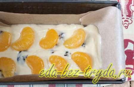 Мандариновый кекс рецепт с фото 9 шаг