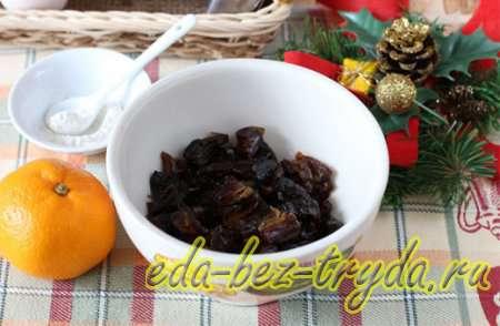 Мандариновый кекс рецепт с фото 1 шаг