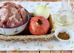 как приготовить Шашлык на сковороде из свинины