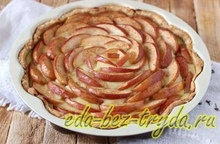 Цветаевский яблочный пирог 10 шаг