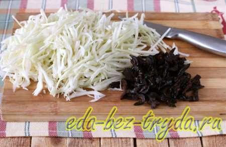 Борщ с фасолью рецепт 7 шаг