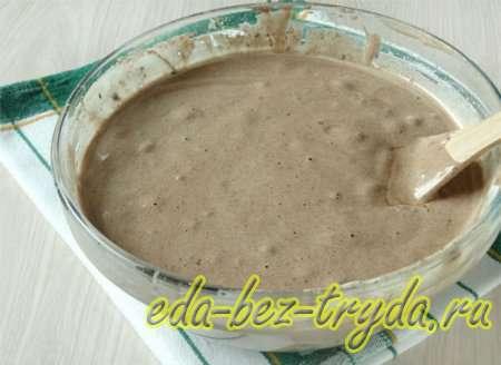 Шоколадный бисквитный торт рецепт с фото 4 шаг