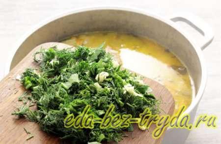 Рассольник с рисом и солеными огурцами рецепт 6 шаг