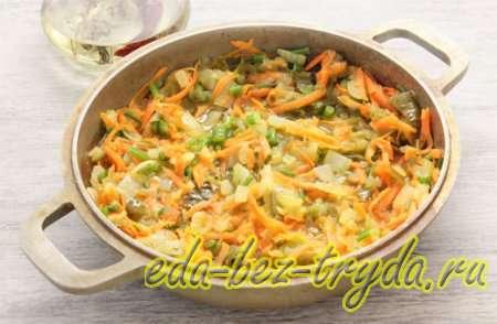 Рассольник с рисом и солеными огурцами рецепт 2 шаг
