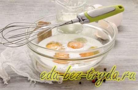 Яичный рулет с начинкой рецепт с фото