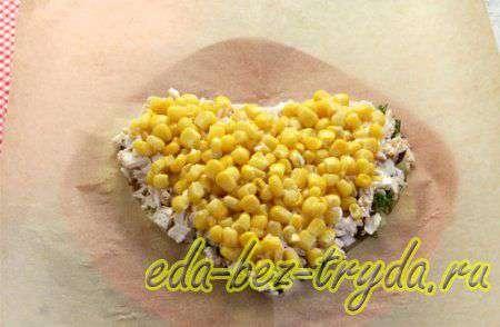 Салат с курицей и кукурузой 6 шаг