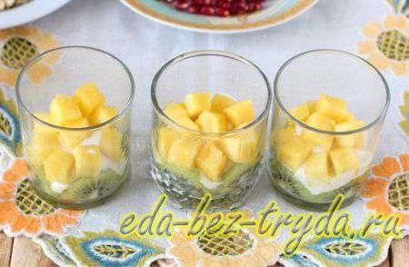 Фруктовый салат с йогуртом 7 шаг
