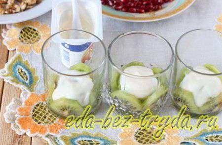 Фруктовый салат с йогуртом 6 шаг