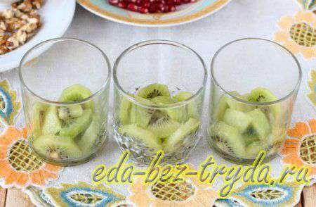 Фруктовый салат с йогуртом 5 шаг