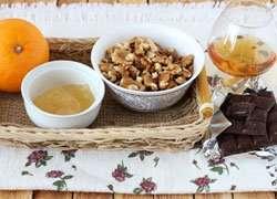 как приготовить Ореховые шарики с апельсином в шоколаде