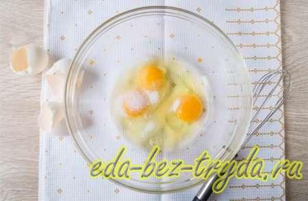 Блины с курицей и яйцом 8 шаг