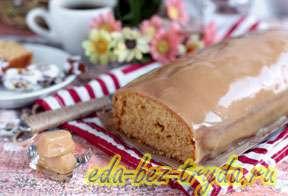 Карамельный кекс с ирисками