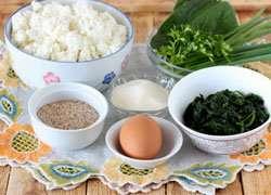 как приготовить Сырники со шпинатом и зеленью
