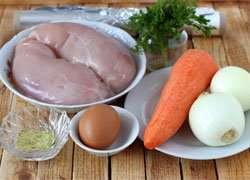 как приготовить Куриная колбаса с овощами