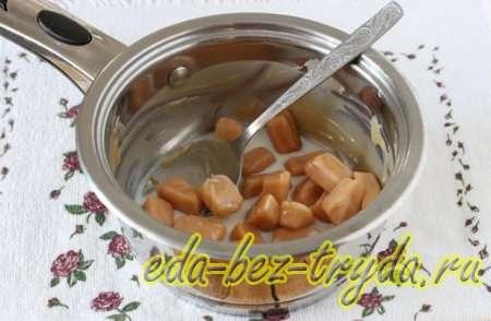 Готовим карамельную глазурь для кекса 9 шаг