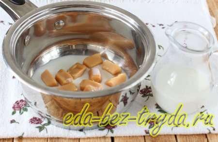 Начнем приготовление карамельного кекса с теста 1 шаг