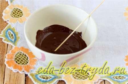Растопим шоколад 8 шаг
