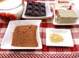 как приготовить Горячий шоколад с халвой